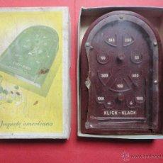 Juegos antiguos: JUGUETE AMERICANO. KLICK KLACK. Lote 47019822