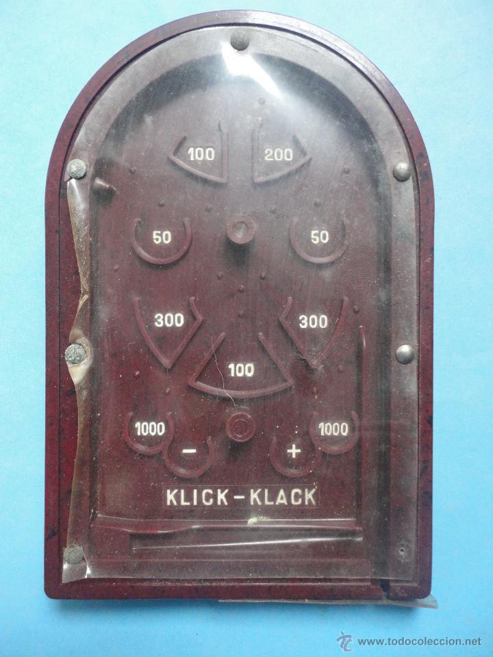 Juegos antiguos: JUGUETE AMERICANO. KLICK KLACK - Foto 4 - 47019822