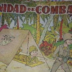 Juegos antiguos: UNIDAD DE COMBATE TIENDA DE CAMPAÑA PARA NIÑOS. Lote 47115584