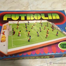 Juegos antiguos: FUTBOLIN DE SOBREMESA CHICOS AÑOS 80. Lote 47124812