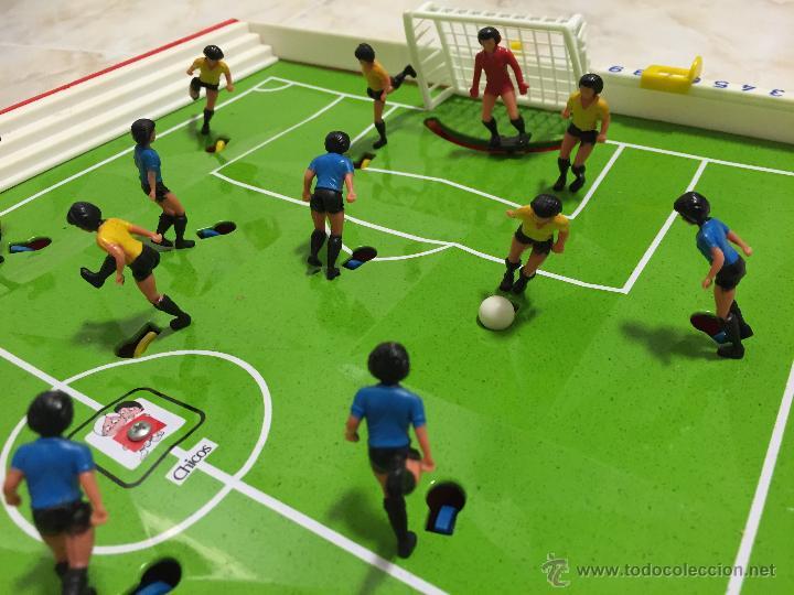 Juegos antiguos: FUTBOLIN DE SOBREMESA CHICOS AÑOS 80 - Foto 4 - 47124812