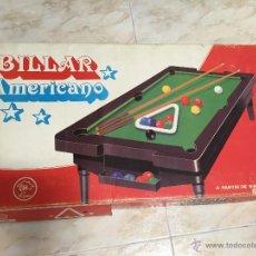 Juegos antiguos: BILLAR DE SOBREMESA RIMA AÑOS 80. Lote 47124820