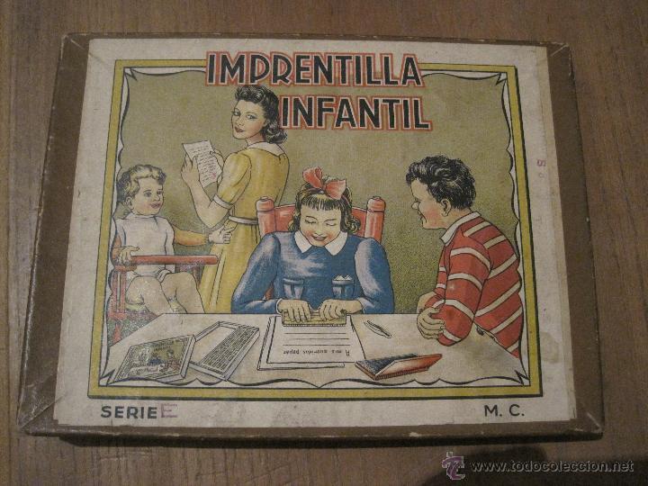 IMPRENTILLA INFANTIL SERIE E (Juguetes - Juegos - Otros)