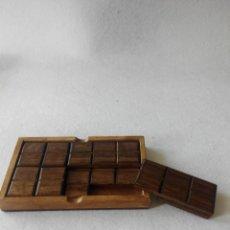 Juegos antiguos: JUEGO DE INGENIO. TABLETA DE CHOCOLATE. Lote 47383929