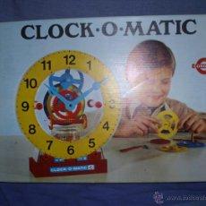 Juegos antiguos: CLOCK O MATIC DE CONGOST ORIGINAL. Lote 47394228