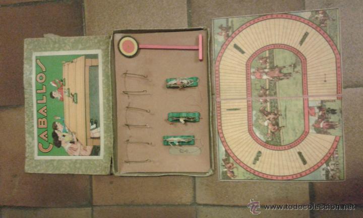 Bonito Antiguo Juego De Carrera De Caballos Fi Comprar Juegos