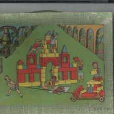Juegos antiguos: CONSTRUCCIÓN DE MADERA EL PEQUEÑO ARQUITECTO . Lote 47833789
