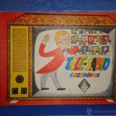 Juegos antiguos: ANTIGUO JUEGO, TELE-SABIO ELECTRONICO DE JUGUETES INSTRUCTIVOS J.M., 111-1. Lote 47876693