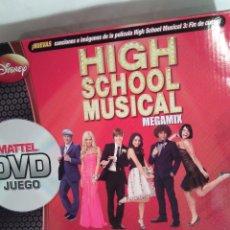Juegos antiguos: JUEGO HIGHT SCHOOL MUSICAL DE MATTEL CON DVD.. Lote 47924981
