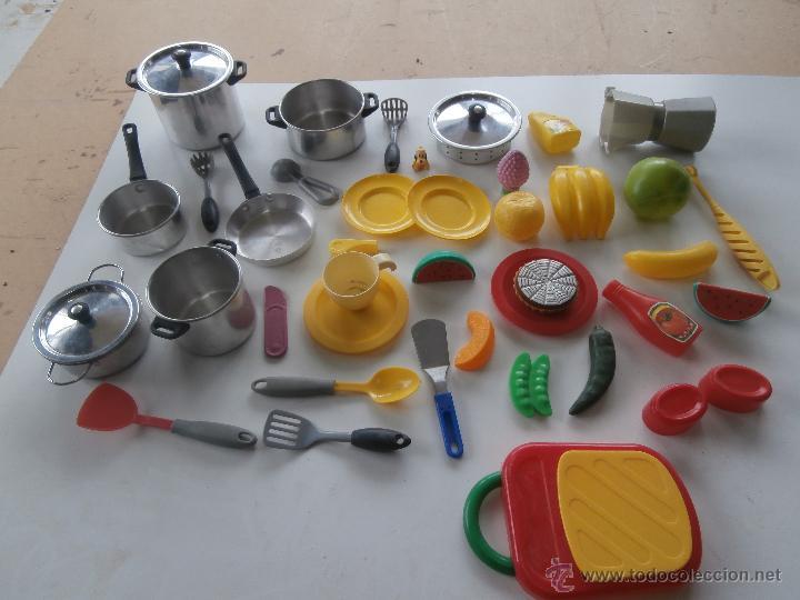 Lote de juguetes para cocina y menaje comprar juegos for Menaje cocina online