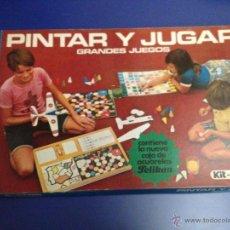 Juegos antiguos: JUGUETE PINTAR Y JUGAR DE PELIKAN AÑOS 70. Lote 48477148
