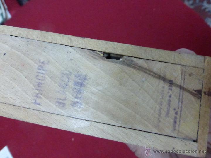 Juegos antiguos: ANTIGUO JUEGO DE DOMINO PROFESIONAL EN SU CAJA DE MADERA - DOMINO EN ESTUCHE - FICHAS DOMINO - - Foto 3 - 53982188