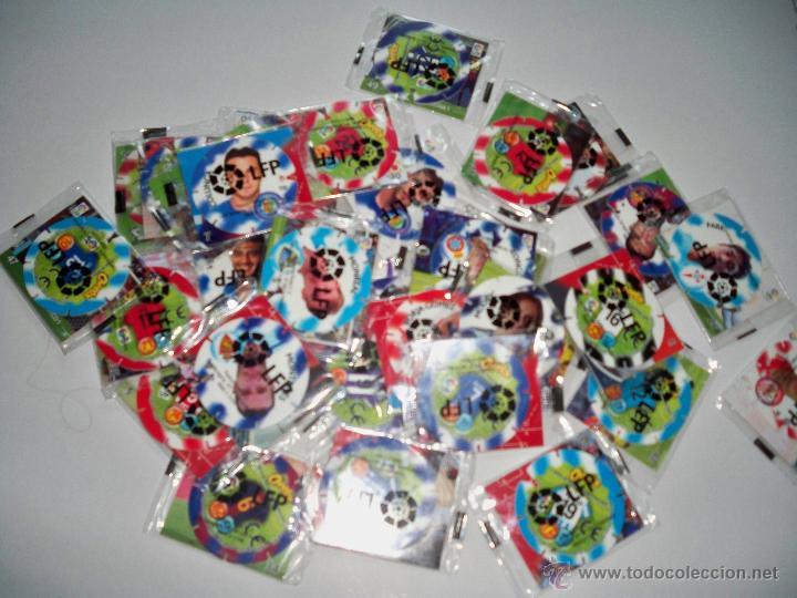 TAZOS FUTBOL CHEETOS LFP TAZOS Y PEGATINAS PRECINTADOS (Juguetes - Juegos - Otros)