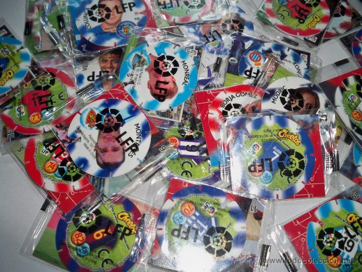 Juegos antiguos: TAZOS FUTBOL CHEETOS LFP TAZOS Y PEGATINAS PRECINTADOS - Foto 2 - 49580702
