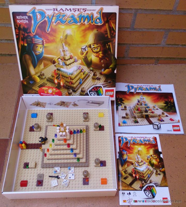 Juego De Mesa Lego Ramses Pyramid Comprar Juegos Antiguos Variados