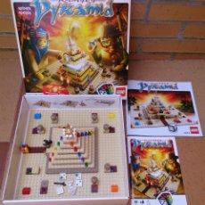 Juegos antiguos: JUEGO DE MESA LEGO RAMSES PYRAMID. Lote 50492804