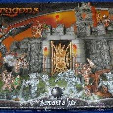 Juegos antiguos: MEGA BLOCKS DRAGONS - SORECER'S LAIR. Lote 50968350