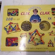 Juegos antiguos: JUEGO MAGNETIC CLIK CLAK. Lote 51023011