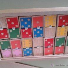 Juegos antiguos: DOMINO DE MADERA. Lote 51245782