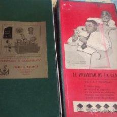 Juegos antiguos: EL PRIMERO DE LA CLASE, JUEGO PATENTADO Y GARANTIZADO POR FRANCISCO ROSSELLÓ, BARCELONA, ESPAÑA. Lote 52193342