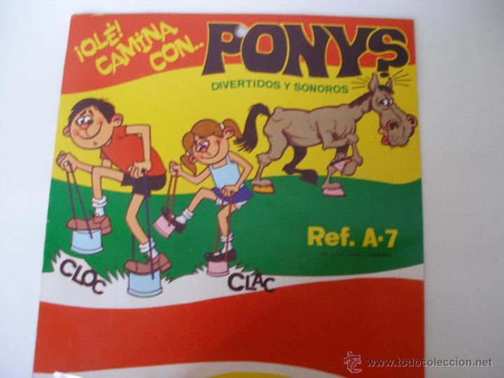 Juegos antiguos: Zancos juguetes Domingo Valencia kiosko años 70 , blister cerrado - Foto 2 - 52445469