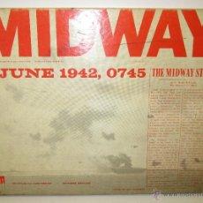 Jogos antigos: MIDWAY , AVALON HILL JUEGO ESTRATEGIA WARGAME NO NAC 1975, INSTRUCCIONES EN CASTELLANO. Lote 53258041