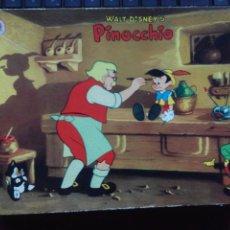 Juegos antiguos: JUEGO SELLOS/TAMPONES MULTIPRINT PINOCHO AÑOS 60 (DISNEY). Lote 53268444