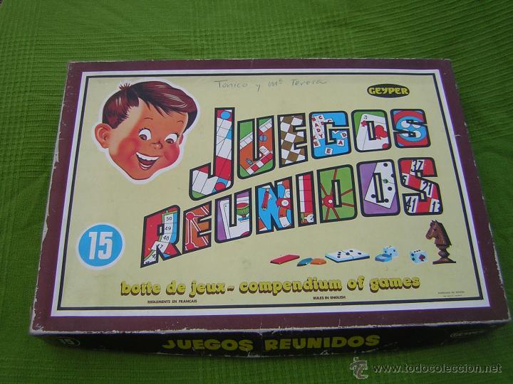 Juegos Reunidos Geyper Comprar Juegos Antiguos Variados En