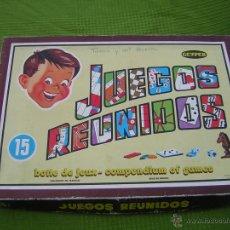 Juegos antiguos: JUEGOS REUNIDOS GEYPER. Lote 53447220