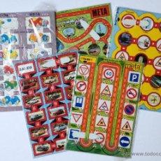 Juegos antiguos: JUEGOS BUEN VIAJE. LOTE DE 5 JUEGOS EDUCATIVOS. TEMA COCHES, CONDUCCIÓN. NUEVOS Y PRECINTADOS.. Lote 53448906