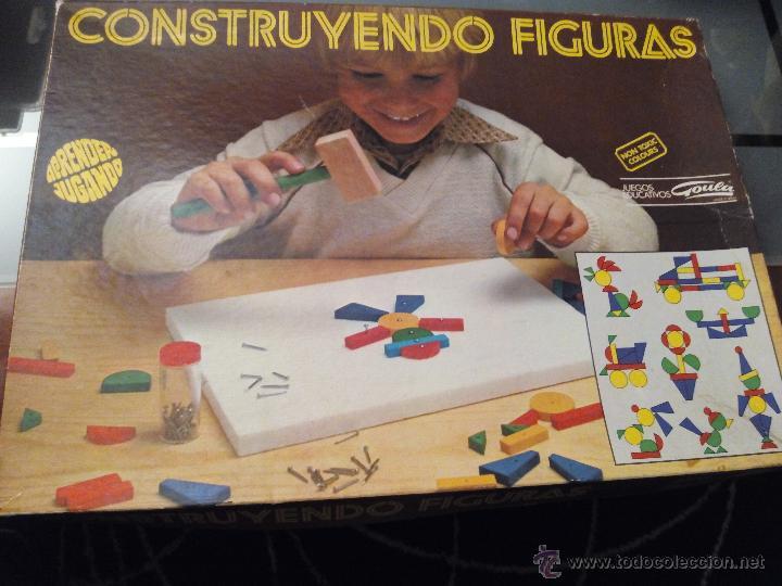 CONSTRUYENDO FIGURAS-GOULA- (Juguetes - Juegos - Otros)