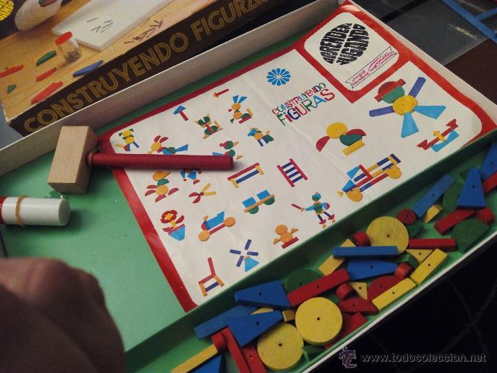 Juegos antiguos: CONSTRUYENDO FIGURAS-GOULA- - Foto 2 - 53579809