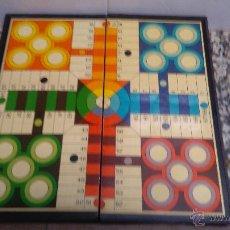 Juegos antiguos: JUEGO DE PARCHIS INCOMPLETO. Lote 53591689