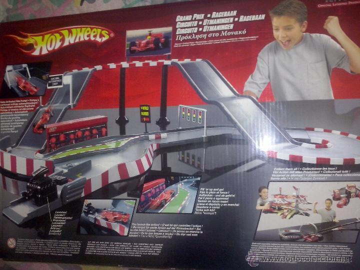 Mattel 2007 Hot Wheels Circuito Ferrari Pista Comprar Juegos