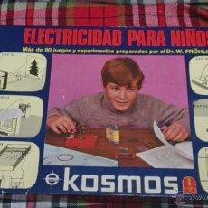 Juegos antiguos: ELECTRICIDAD PARA NIÑO,, KOSMOS, FELP S.A. Lote 54138516