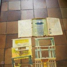Juegos antiguos: EL TEATRO DE LOS NIÑOS ``LA CIENCIA MAS QUE EL PODER´´ SOLO DECORADOS. Lote 54195722