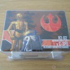 Juegos antiguos: STAR WARS: IMPERIAL ASSAULT - R2-D2 C3PO - EDGE - JUEGO DE AVENTURAS Y ESTRATEGIA - MINIATURAS. Lote 94673476