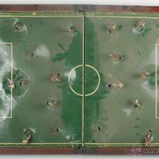 Juegos antiguos: ANTIGUO FUTBOLIN ELECTRICO AUTOMATICO MARCA IRDNAX. JUGADORES DE PLOMO. MED S XX.. Lote 46087160
