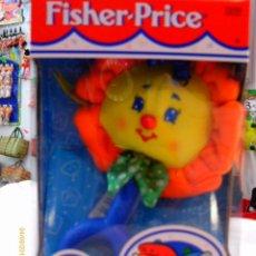Juegos antiguos: BLANDI - SONAJERO SOL PARA BEBÉ.FISHER PRICE AÑO 1998.NUEVO EN CAJA.. Lote 54853222