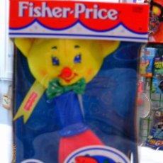 Juegos antiguos: BLANDI - SONAJERO OSITO PARA BEBÉ.FISHER PRICE AÑO 1998.NUEVO EN CAJA.. Lote 54853243