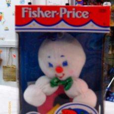 Juegos antiguos: BLANDI - SONAJERO CONEJITO PARA BEBÉ.FISHER PRICE AÑO 1998.NUEVO EN CAJA.. Lote 54853254