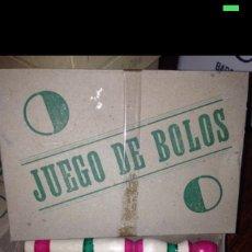 Juegos antiguos: JUEGO DE BOLOS GRANDES 1930-40. Lote 54855218