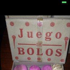 Juegos antiguos: JUEGO DE BOLOS 1930-40 ORIGINAL. Lote 54855268