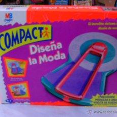 Juegos antiguos: DISEÑA LA MODA COMPACT.MB AÑO 1994.NUEVO EN CAJA SELLADA.. Lote 154685790