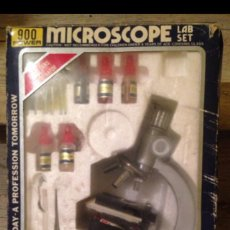 Juegos antiguos: MICROSCOPIO DE 1970-80 EN CAJA. Lote 55130454