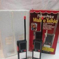 Juegos antiguos: WALKIE TALKIE FISHER PRICE EN CAJA AÑOS 80. Lote 55160561