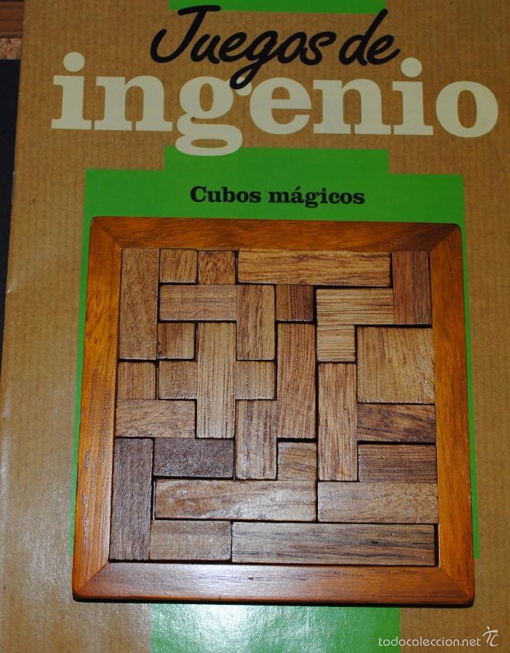 Juegos antiguos: Juego de Inteligencia ( CUBOS MÁGICOS ).. - Foto 3 - 56089716