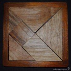 Juegos antiguos: JUEGO DE INTELIGENCIA ( TANGRAM ).. Lote 56089884