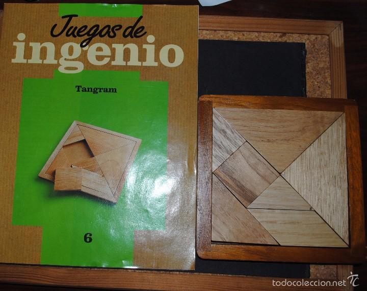 Juegos antiguos: Juego de Inteligencia ( TANGRAM ). - Foto 3 - 56089884