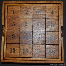 Juegos antiguos: JUEGO DE INTELIGENCIA ( DESLIZA ).. Lote 132523818